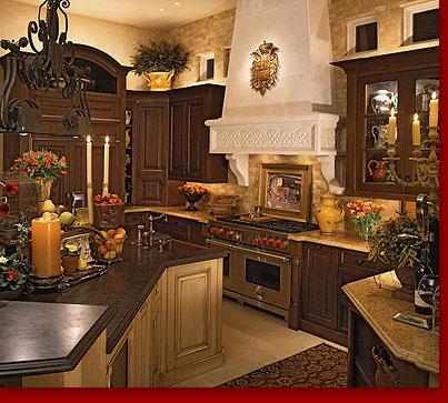 Rti Tuscan Villa Kitchen